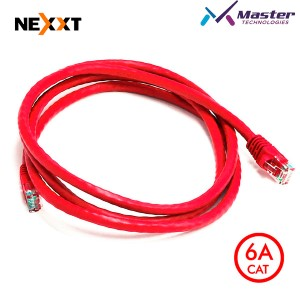 PATCH CORD 7FT NEXXT ROJO