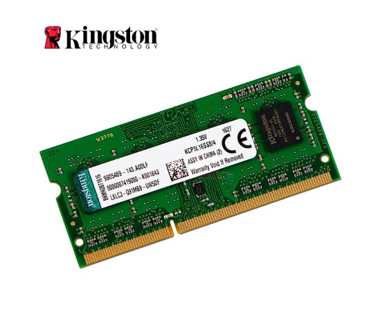 Memoria P/Notebook 4Gb Kingston Ddr3 1600Ghz Kcp3L16Ss8/4