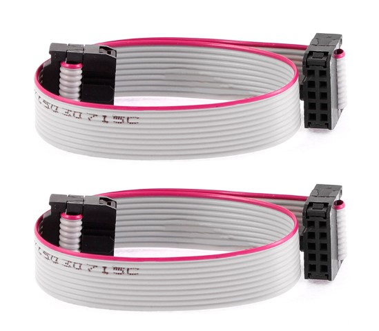 CABLE PLANO 10PIN IDC 1FT CA-C10-F-C10-1