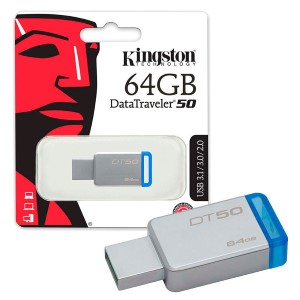 Memoria Flash 64Gb Dt50 Kingston