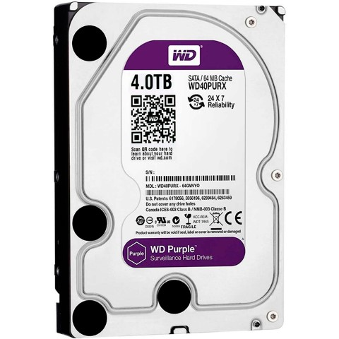 DISCO DURO INTERNO 4TB WESTERN DIGITAL 5400RPM WD40PURZ