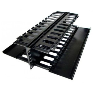ORGANIZADOR HORIZONTAL DOBLE SITIO 2U NEWLINK 0201023