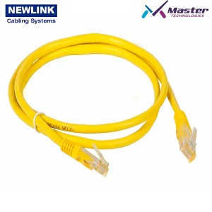 PATCH CORD 7FT CAT6A AMARILLO NEWLINK 16607YW
