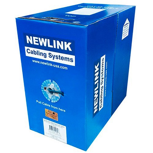 CABLE DE RED UTP CAT5e CMX 1000FT NEWLINK 9805361