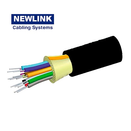 CABLE DE FIBRA 12 HILOS MULTIMODO OM3 ADSS NEWLINK 9495012