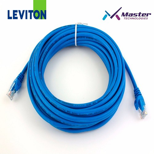 PATCH CORD 3FT CAT5E AZUL LEVITON
