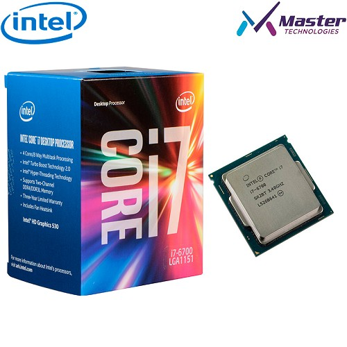 PROCESADOR INTEL CORE i7-6700 3.4GHZ BX80662I776700
