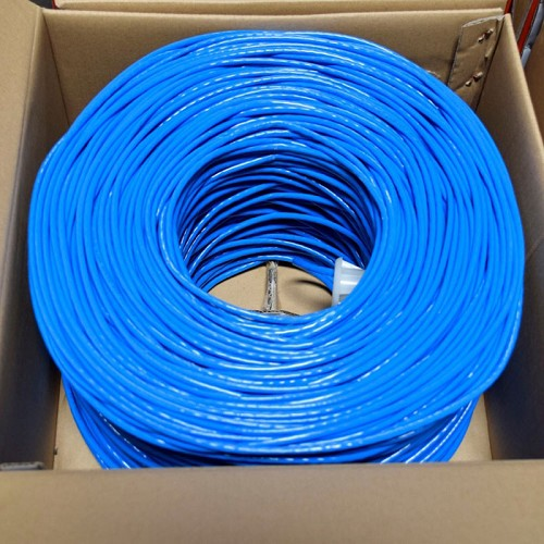CABLE DE RED UTP CAT6A 23AWG CM 1000FT AZUL NEWLINK 9807312